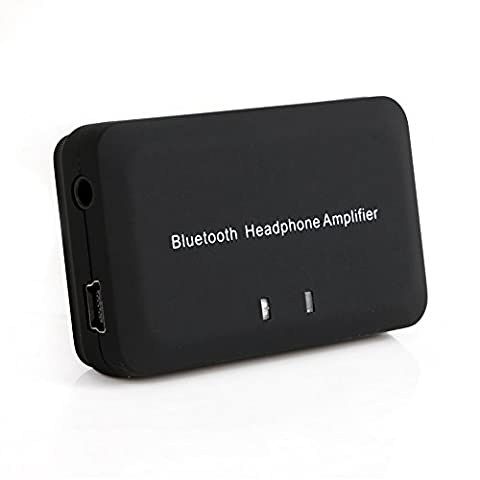 ESHOWEE Portable Headphone Amplifier Bluetooth 4.1 Receiver Wireless Audio Adapter (Bluetooth Headphone Dac)