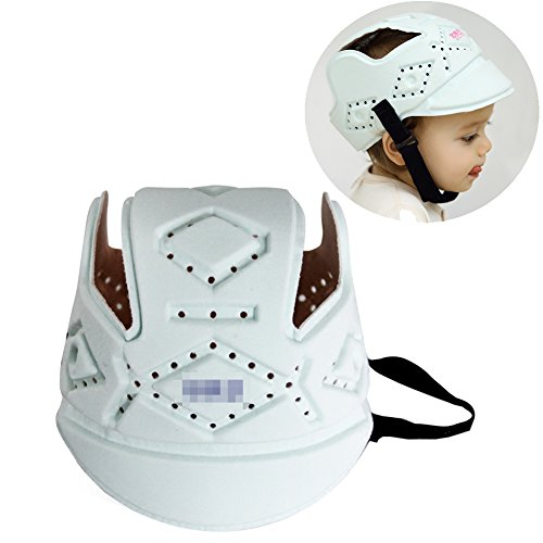 Olpchee Adjustable Baby Safety Helmet Headguard Protective Cap for Baby Head when Walking or Crawling