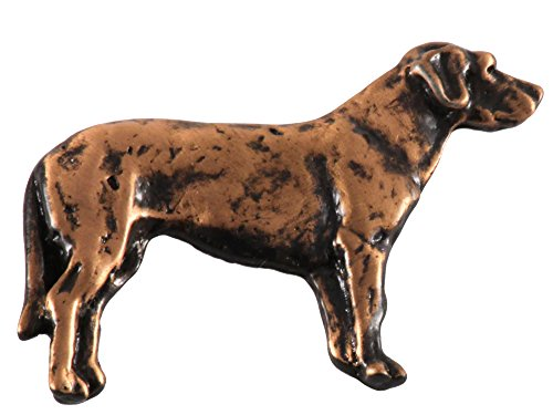 Creative Pewter Designs Labrador Dog Copper Plated Lapel Pin, Brooch, Jewelry, DC412F (Pin Labrador Jewelry)
