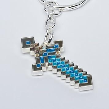 Minecraft - Diamond Espada llavero: Amazon.es: Juguetes y juegos