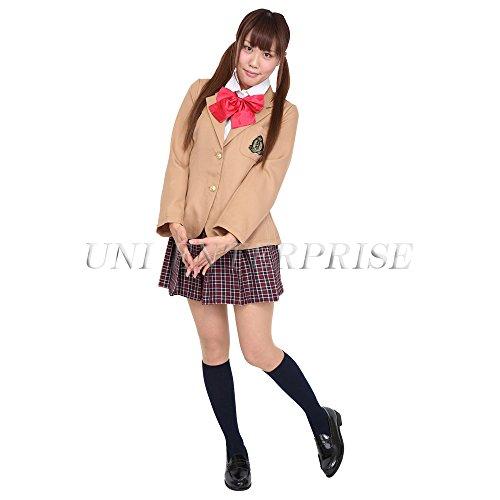 [Patymo Japanese High School Uniform (Halloween Costume)] (High School Vampire Costume)