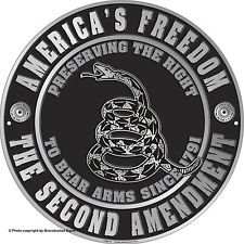 (Collectible Badges America's Freedom the Second Amendment 12