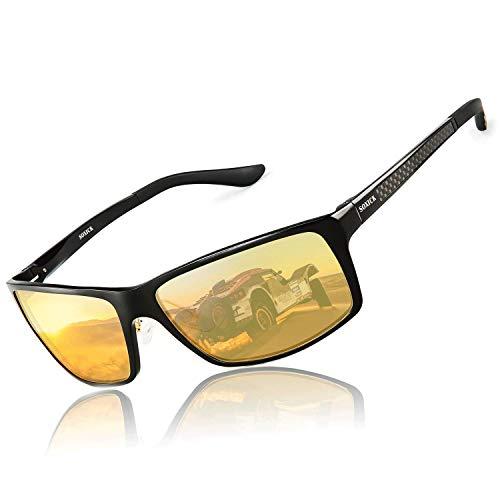SOXICK Night Driving Glasses Polarized Anti Glare Night Vision HD
