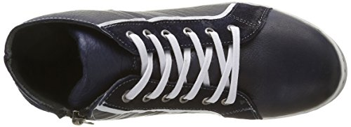 Andrea Conti 0342700 - Zapatillas Mujer Azul - Blau (dunkelblau 017)