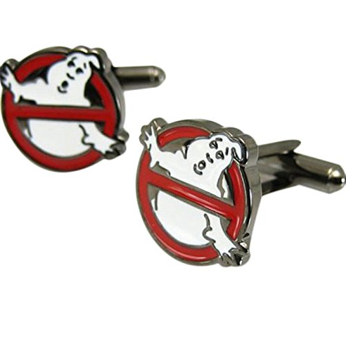 Men's Novelty Ghostbuster Cuff Links