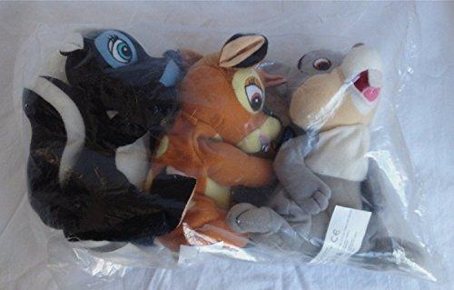 Disney Bambi, Thumper, & Flower Bean Bag Set