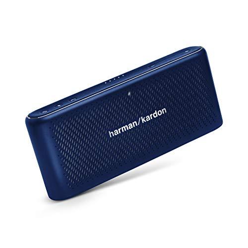 Harman Kardon HK Traveler Blue Portable Bluetooth Speaker with Microphone Blue