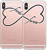 Best DECO FAIRY® Friend I Phone Cases - DECO FAIRY ,Set of Two Cases Friend Infinity Review