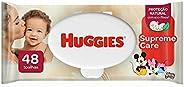 Lenços Umedecidos Huggies Supreme Care - 48 lenços