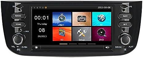 GPS USB SD Bluetooth autoradio navigatore Fiat Punto Evo 2012