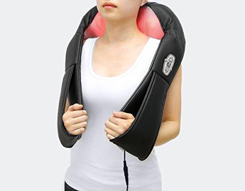 1byone Shiatsu Deep-Kneading Massager with Heat...