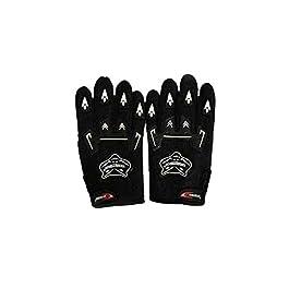 Knighthood KNIBK01 Bike Driving Gloves (Black, XXX-Large)