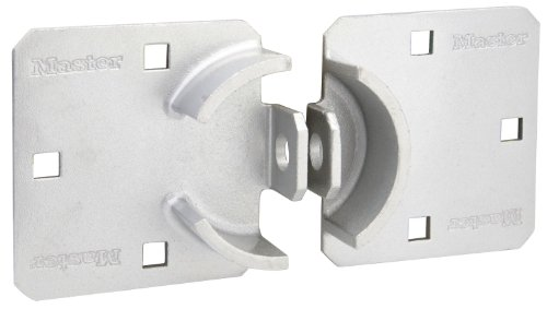 Master Lock Hasp, Solid Steel Hidden Hasp, 9 in. wide, 770 by Master Lock