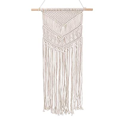 """Lapoea Woven Wall Hanging Woven Hanging Decor-Woven Tapestry Art for Home Decorative 15.7"""" W x 30"""" L -  - living-room-decor, living-room, home-decor - 41Wek5ceRaL. SS400  -"""