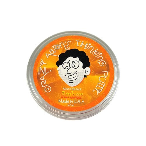thinking-putty-amber-glow-in-the-dark-2-inch-by-crazy-aaron