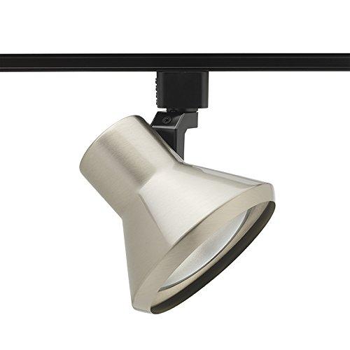 - Juno Lighting R552SC Trac-Lites Flared Steps Line Voltage 75W PAR30 Lamp Holder, Satin Chrome.