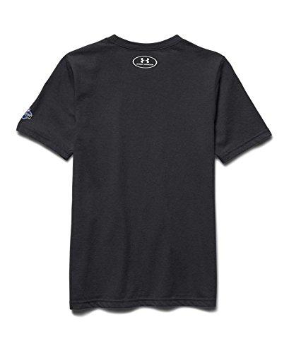 Under Armour Big Boys' NFL Combine Authentic Earn Your Spot T-Shirt YXS Black