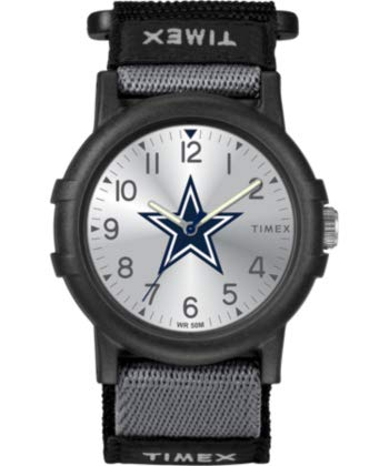 (Dallas Cowboys Timex Youth Recruit Velcro Watch)