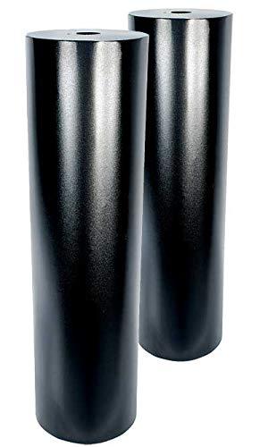Set of 2 Woodlink Torpedo Raccoon Baffles, Black, 8