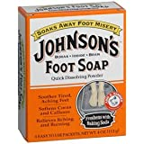 PACK OF 3 EACH JOHNSON'S FOOT SOAP 4 ENV 1EA PT#1150900401 by Marble Medical