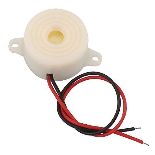 Cheap eDealMax DC3-24V industriale suono Continuo Allarmi elettronici Buzzer Bianco