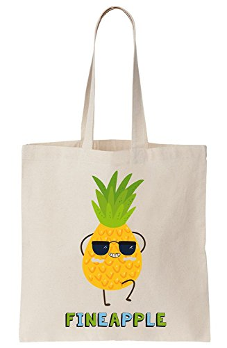 As Tote Fineapple Bag Pineapple Canvas Cool FTwqxapd