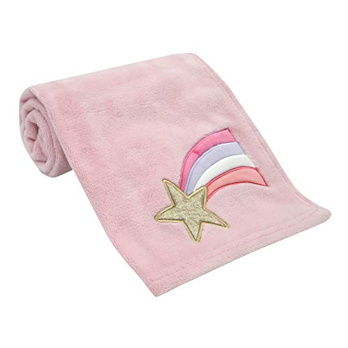 Bedtime Originals Rainbow Unicorn Baby Blanket,