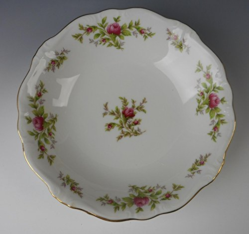Johann Haviland China MOSS ROSE (Bavarian) Coupe Soup Bowl(s) EXCELLENT (China Patterns Bavarian)