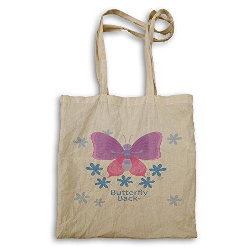 Schmetterlings-Satz-Liebes-Natur-lustige Neuheit Tragetasche b186r