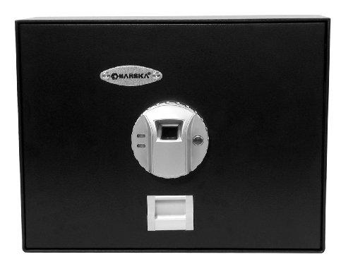 Barska AX11556 Biometric Top-Opening Drawer Safe Black