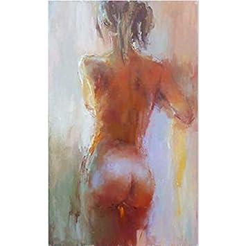Maoyym1 Femmes Nues Peintes à La Main Peinture à Lhuile Sur Toile