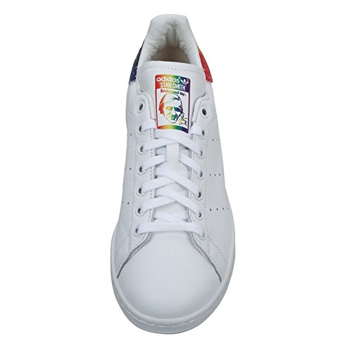 Adidas Mens Originali Sneaker Smith Bianco / Bianco / Multi