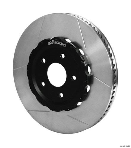 Wilwood 140-12496 Wilwood - Hat/Rotor Kit, Front, 06-Up Corvette C6-Z06 (2pc Hat/Rtr)