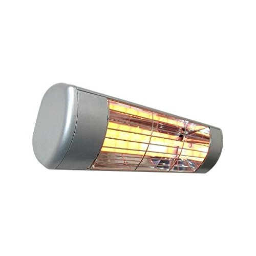SUNHEAT Outdoor Weatherproof Electric Wall Mounted Patio Heater