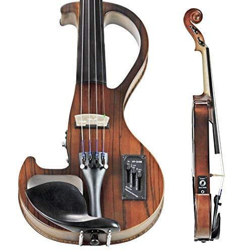 Bunnel EDGE Electric Violin Outfit (Zebrano)