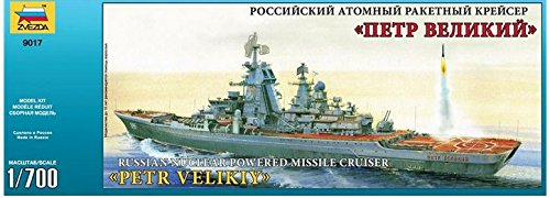 - Zvezda Model Russian Nuclear Powered Missile Cruiser
