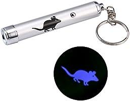 JRing Gato Interactivo Puntero de luz LED, Herramienta Interactiva de Juguete para Entrenamiento de Gatos (3 piezas): Amazon.es: Bricolaje y herramientas