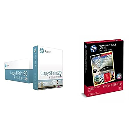 Amazon.com: HP Copy and Print20 Papel de impresora, papel de ...