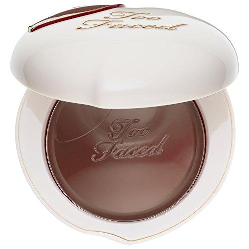 (TOO FACED Peach My Cheeks Melting Powder Blush – Peaches and Cream Collection - Spiced Peach)