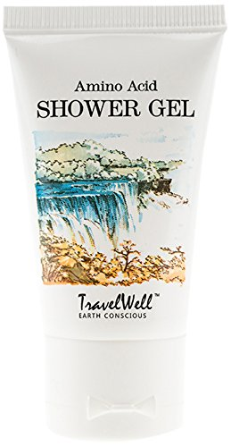 TRAVELWELL Hotel Body Wash Travel Size in Bulk, Clear, 1.1 Ounce, 200 Count by Travelwell (Image #2)