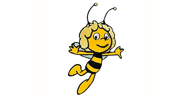 Diseño de la abeja Maya - parche bordado parche: Amazon.es ...