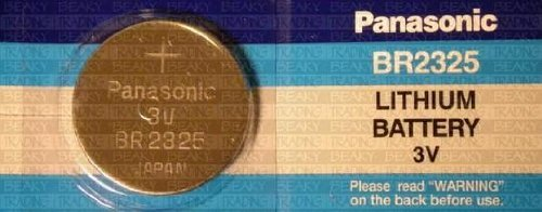 - Panasonic-one (1) X Br2325 Cr2325 Lithium Coin Cell Battery 3v Blister Packed
