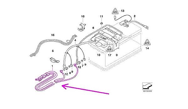 Battery Accessories IBS BMW e90 e91 e92 e93 Adapter Lead Negative ...