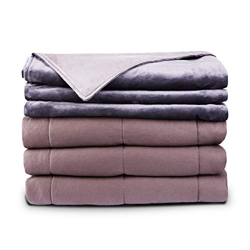 Cheap SIMBR Weighted Blanket for Adult & Removable Cover (20 lbs 60