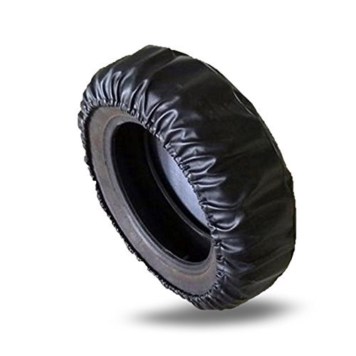 Taumini Tire Cover 15 inch Spare Tire Cover Wheel Covers for Vehicle,Car,Jeep,Trailer,RV,SUV,Truck Wheel Car Spare Tire Cover for Protector