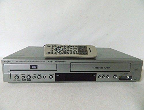 Sanyo DVW-7100A DVD Player / VCR Combo (Sanyo Analog Tv)