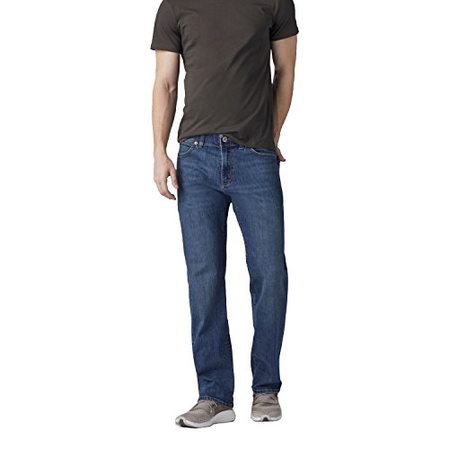 LEE Men's Extreme Motion Relaxed Jean - Big & Tall, Mega - 52 x 28 (52 20)