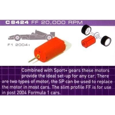 Scalextric C8424 FP Motor 20K RPM with wires 1:32 Scale Accessory by Scalextric Car Spares and Accessories