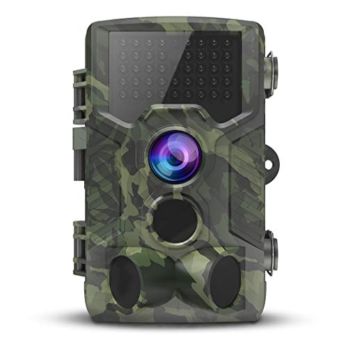 VICTONY Trail Camera,1080P 16MP HD Wildlife Game Hunting Cam with Motion Activated Night Vision, 120° Wide Angle Lens,IP65 Waterproof Wildlife Camera
