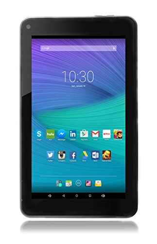 Astro Tab A750-7 Inch Quad Core Android 8.1 Tablet PC with HD IPS Display 1024 x 600, 1GB RAM, 8GB Storage, Bluetooth 4.0, 7 inch Screen, Google Play (Black)